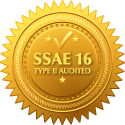 SSAE 16 Type II Audited